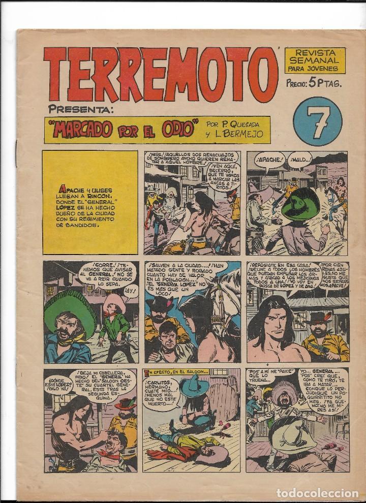 Tebeos: Terremoto Presenta Apache Año 1964 Colección Completa son 14 Tebeos Originales nuevos - Foto 8 - 218630527