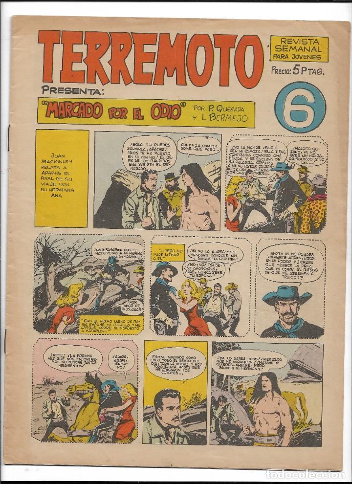 Tebeos: Terremoto Presenta Apache Año 1964 Colección Completa son 14 Tebeos Originales nuevos - Foto 7 - 218630527