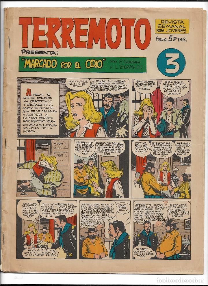 Tebeos: Terremoto Presenta Apache Año 1964 Colección Completa son 14 Tebeos Originales nuevos - Foto 4 - 218630527