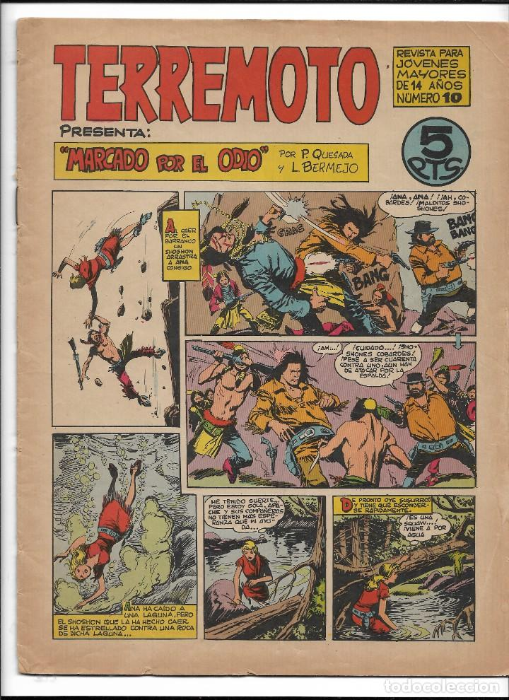 Tebeos: Terremoto Presenta Apache Año 1964 Colección Completa son 14 Tebeos Originales nuevos - Foto 11 - 218630527