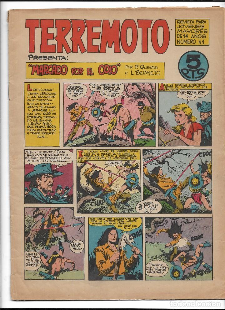 Tebeos: Terremoto Presenta Apache Año 1964 Colección Completa son 14 Tebeos Originales nuevos - Foto 12 - 218630527