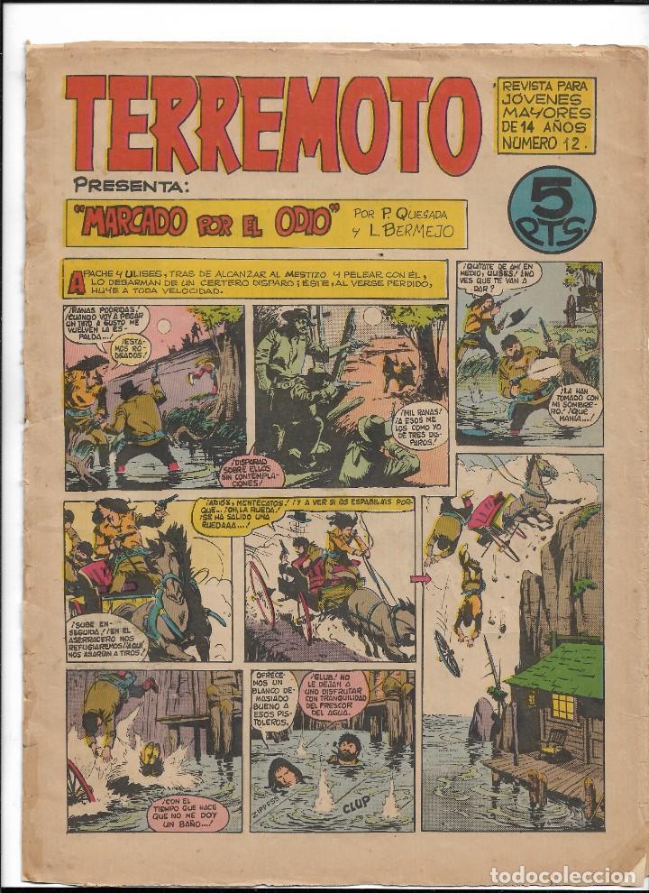 Tebeos: Terremoto Presenta Apache Año 1964 Colección Completa son 14 Tebeos Originales nuevos - Foto 13 - 218630527