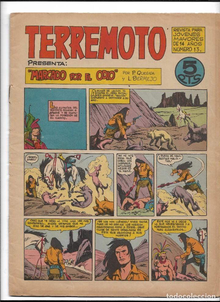 Tebeos: Terremoto Presenta Apache Año 1964 Colección Completa son 14 Tebeos Originales nuevos - Foto 14 - 218630527