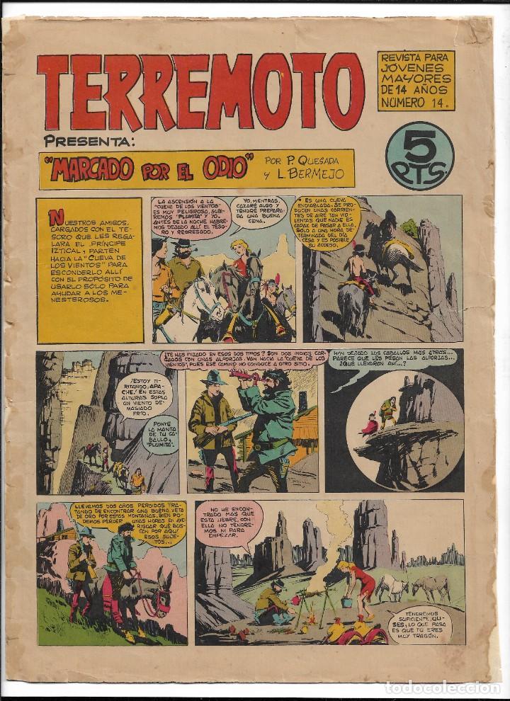 Tebeos: Terremoto Presenta Apache Año 1964 Colección Completa son 14 Tebeos Originales nuevos - Foto 15 - 218630527