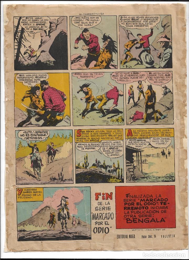 Tebeos: Terremoto Presenta Apache Año 1964 Colección Completa son 14 Tebeos Originales nuevos - Foto 16 - 218630527