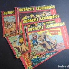 Giornalini: LOTE DE 10 AUDACES LEGIONARIOS (SUELTOS DE TOMO). Lote 218642398