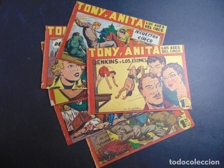 LOTE 6 TONY Y ANITA (SUELTOS DE TOMO) (Tebeos y Comics - Maga - Tony y Anita)