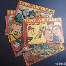 Livros de Banda Desenhada: LOTE 6 TONY Y ANITA (SUELTOS DE TOMO). Lote 218642486