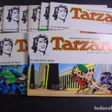 Tebeos: LOTE 8 TARZÁN REY DE LA JUNGLA (COLECCIÓN COMPLETA). Lote 218668820