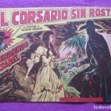 Tebeos: TEBEO EL CORSARIO SIN ROSTRO SERIE DUQUE NEGRO DEFENDIENDO A ISABEL 1958 Nº5 ED. MAGA ORIGINAL. Lote 218679136