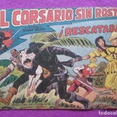 Tebeos: TEBEO EL CORSARIO SIN ROSTRO SERIE DUQUE NEGRO ¡RESCATADA! 1959 Nº15 ED. MAGA ORIGINAL. Lote 218679946