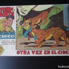 Tebeos: TONY Y ANITA (1960, MAGA) 24 · 21-XII-1960 · OTRA VEZ EN EL CIRCO. Lote 219743863