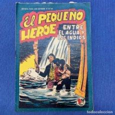 Tebeos: REVISTA PARA LOS JÓVENES Nº 50 - EL PEQUEÑO HÉROE - ENTRE EL AGUA Y LOS INDIOS - EDITORIAL MAGA. Lote 219873466