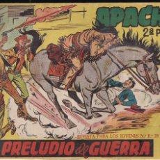 Tebeos: APACHE 2ª PARTE Nº 1: PRELUDIO DE GUERRA. Lote 220093555
