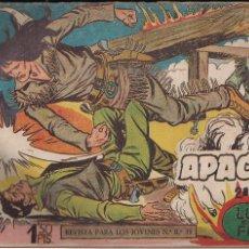 Tebeos: APACHE 2ª PARTE Nº 4: LUCHA ENTRE EL FUEGO. Lote 220093968