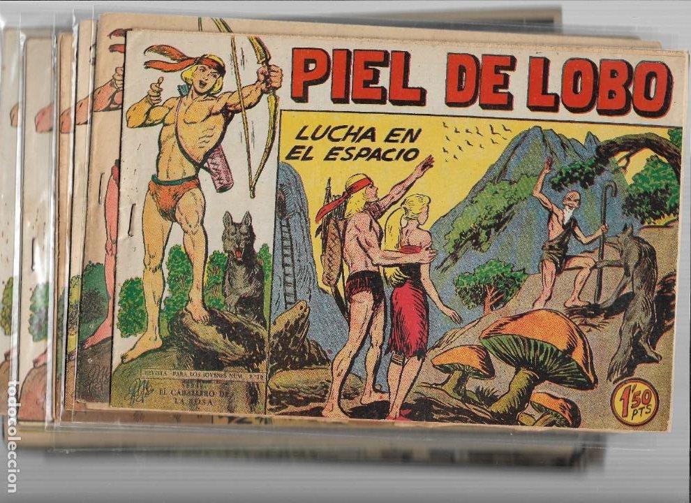 PIEL DE LOBO AÑO 1959 COLECCIÓN COMPLETA SON 90 TEBEOS ORIGINALES + EL ALMANAQUE DEL 1960 ORIGINAL (Tebeos y Comics - Maga - Piel de Lobo)
