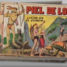 Tebeos: PIEL DE LOBO AÑO 1959 COLECCIÓN COMPLETA SON 90 TEBEOS ORIGINALES + EL ALMANAQUE DEL 1960 ORIGINAL. Lote 220240072