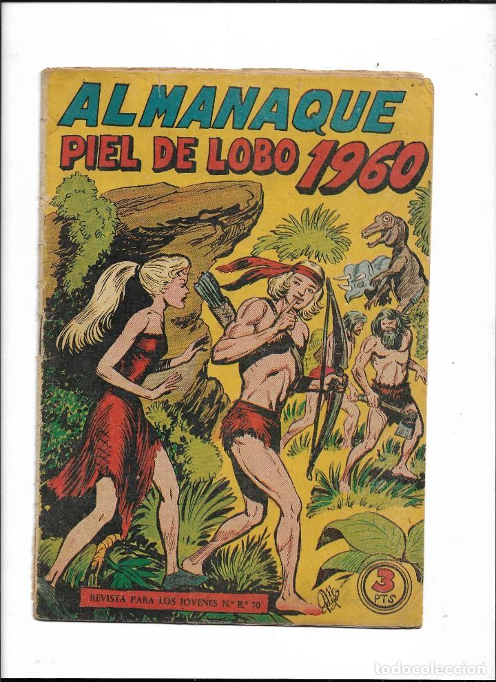 Tebeos: Piel de Lobo Año 1959 Colección Completa son 90 Tebeos Originales + el Almanaque del 1960 Original - Foto 2 - 220240072