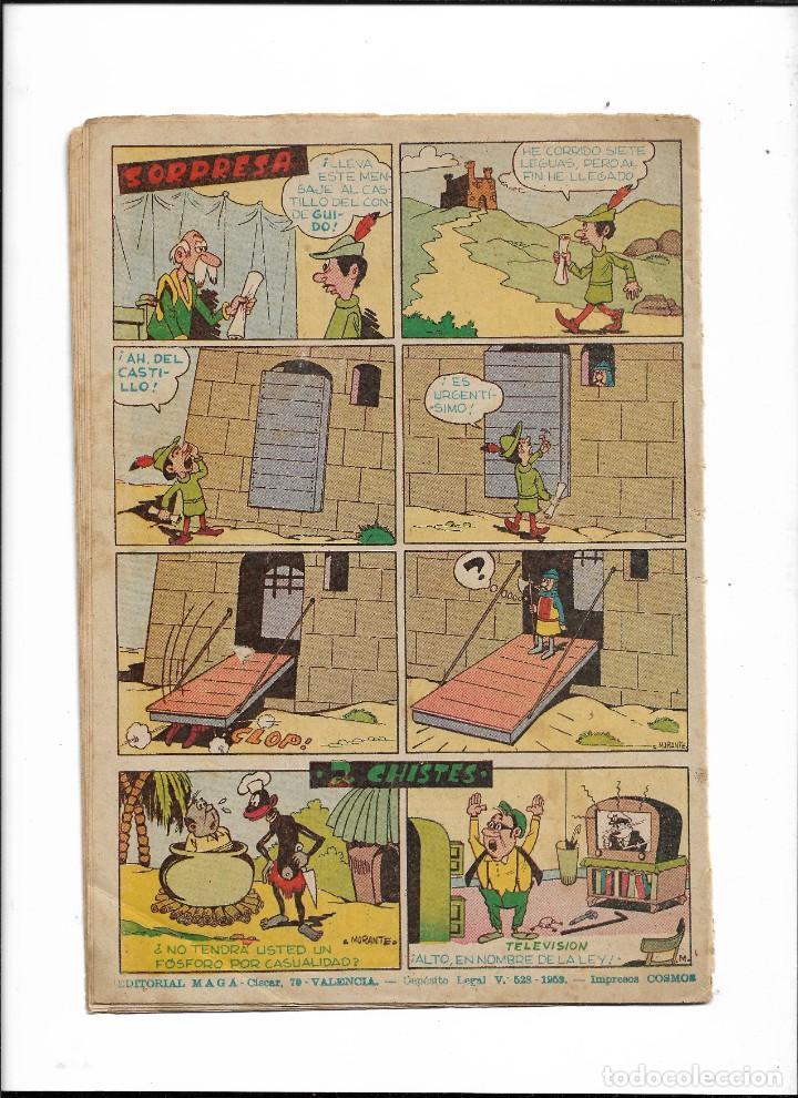Tebeos: Piel de Lobo Año 1959 Colección Completa son 90 Tebeos Originales + el Almanaque del 1960 Original - Foto 3 - 220240072