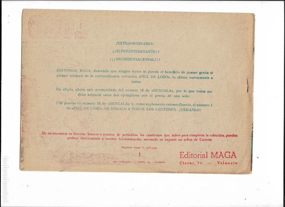 Tebeos: Piel de Lobo Año 1959 Colección Completa son 90 Tebeos Originales + el Almanaque del 1960 Original - Foto 5 - 220240072