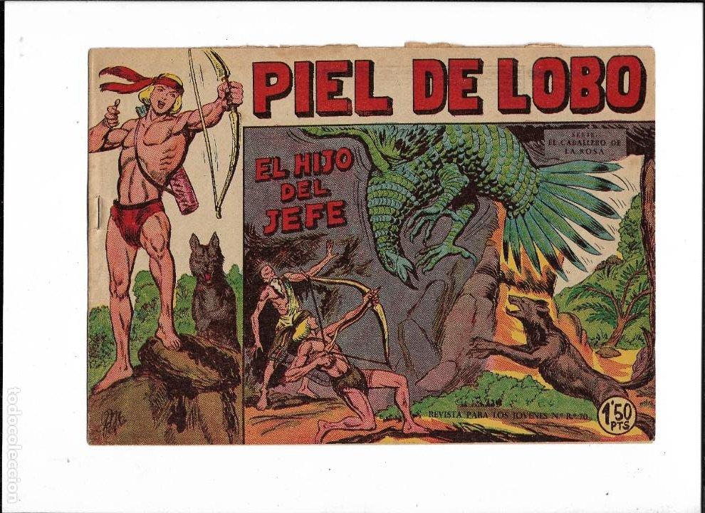 Tebeos: Piel de Lobo Año 1959 Colección Completa son 90 Tebeos Originales + el Almanaque del 1960 Original - Foto 6 - 220240072