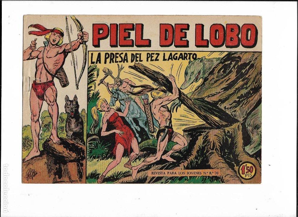 Tebeos: Piel de Lobo Año 1959 Colección Completa son 90 Tebeos Originales + el Almanaque del 1960 Original - Foto 7 - 220240072