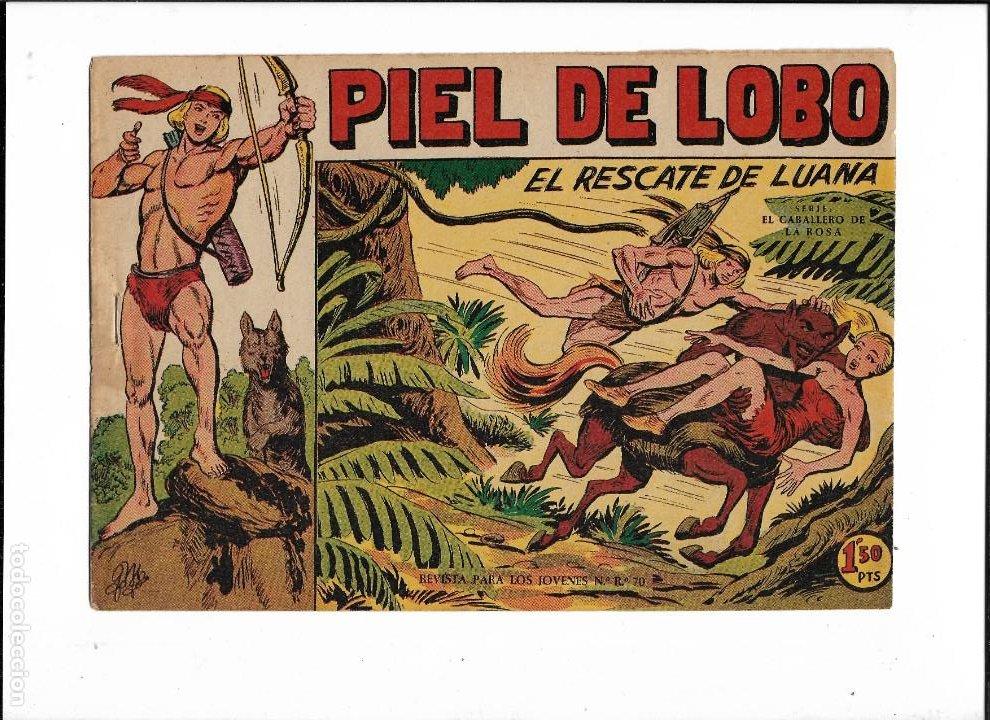 Tebeos: Piel de Lobo Año 1959 Colección Completa son 90 Tebeos Originales + el Almanaque del 1960 Original - Foto 9 - 220240072