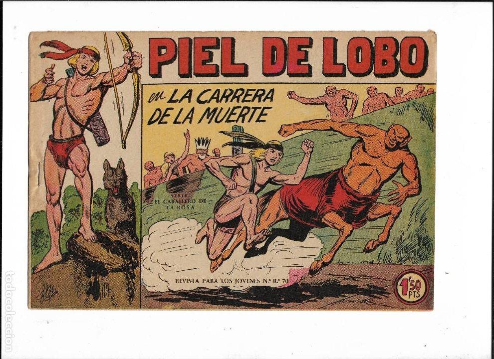 Tebeos: Piel de Lobo Año 1959 Colección Completa son 90 Tebeos Originales + el Almanaque del 1960 Original - Foto 10 - 220240072