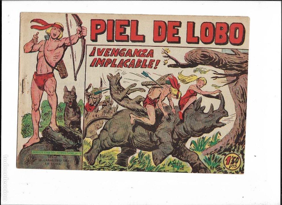Tebeos: Piel de Lobo Año 1959 Colección Completa son 90 Tebeos Originales + el Almanaque del 1960 Original - Foto 11 - 220240072