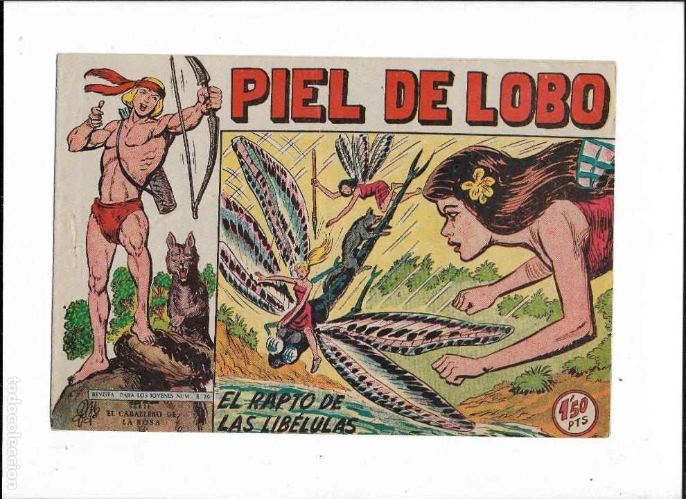Tebeos: Piel de Lobo Año 1959 Colección Completa son 90 Tebeos Originales + el Almanaque del 1960 Original - Foto 13 - 220240072