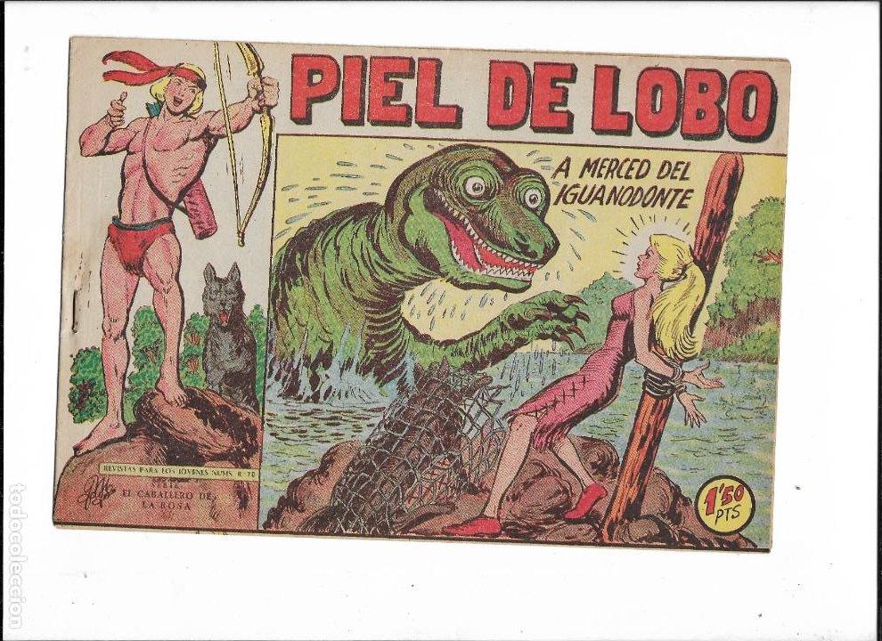 Tebeos: Piel de Lobo Año 1959 Colección Completa son 90 Tebeos Originales + el Almanaque del 1960 Original - Foto 14 - 220240072
