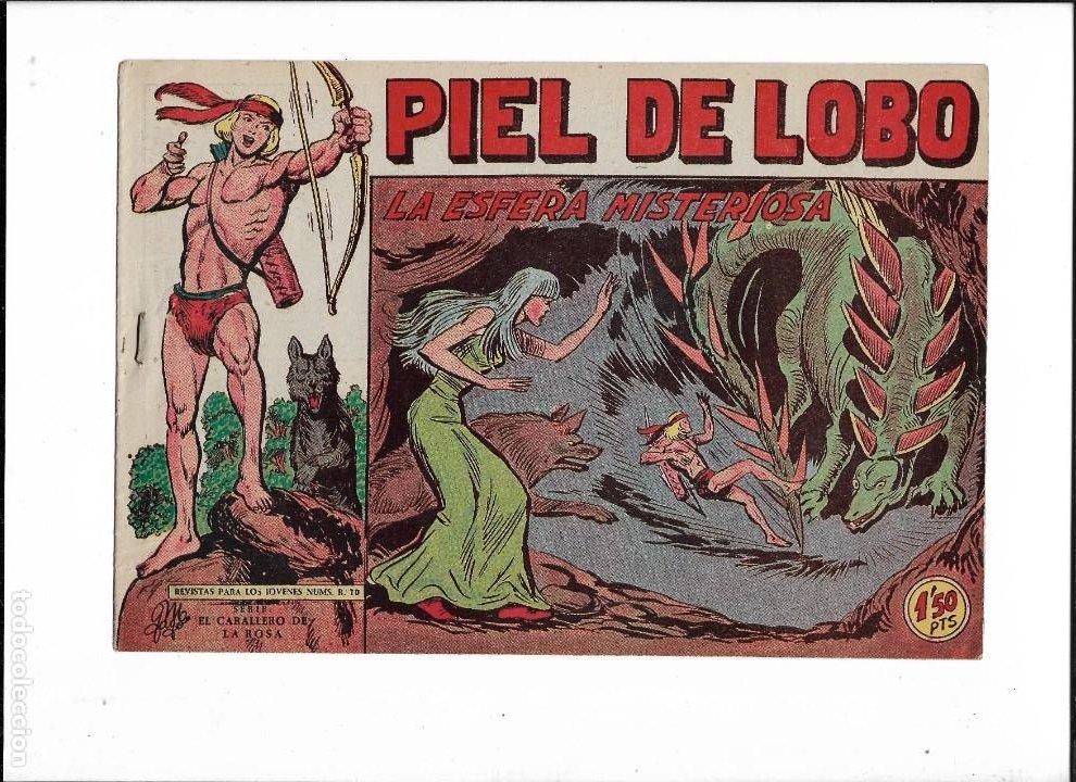 Tebeos: Piel de Lobo Año 1959 Colección Completa son 90 Tebeos Originales + el Almanaque del 1960 Original - Foto 15 - 220240072