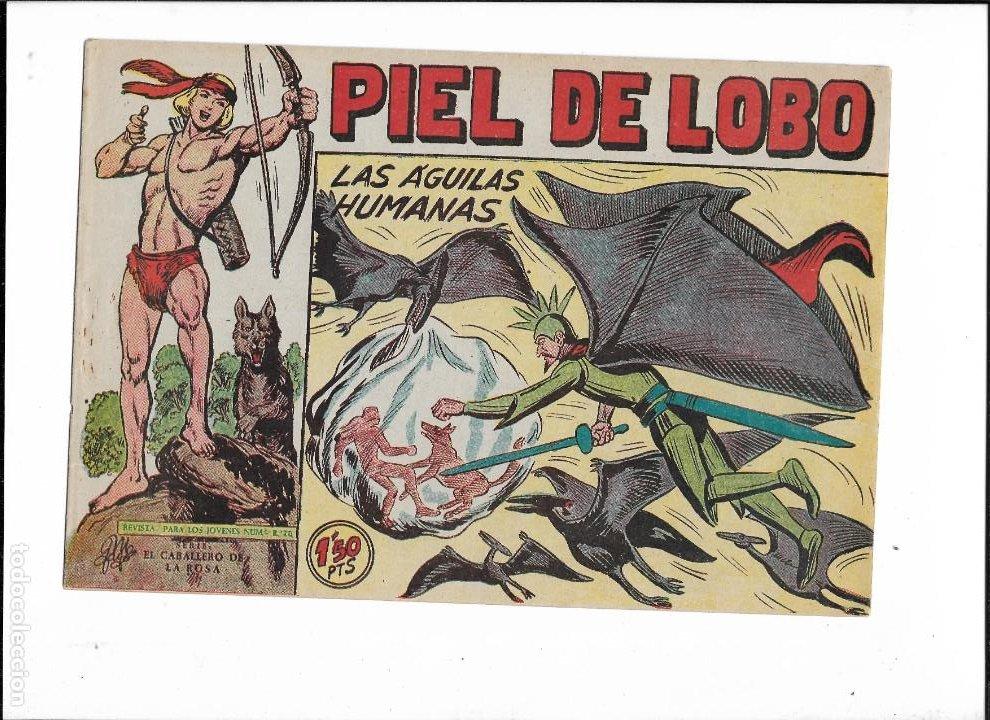 Tebeos: Piel de Lobo Año 1959 Colección Completa son 90 Tebeos Originales + el Almanaque del 1960 Original - Foto 16 - 220240072