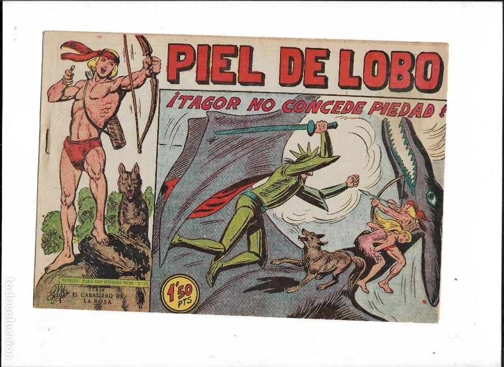 Tebeos: Piel de Lobo Año 1959 Colección Completa son 90 Tebeos Originales + el Almanaque del 1960 Original - Foto 17 - 220240072