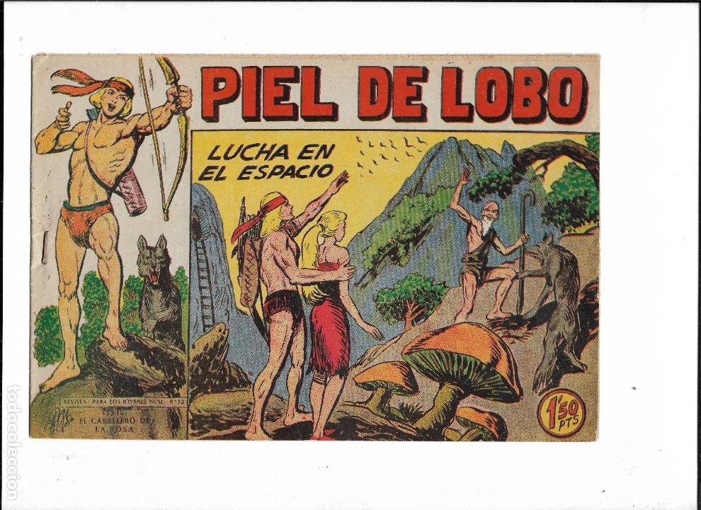 Tebeos: Piel de Lobo Año 1959 Colección Completa son 90 Tebeos Originales + el Almanaque del 1960 Original - Foto 18 - 220240072