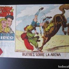 Tebeos: TONY Y ANITA (1960, MAGA) 22 · 7-XII-1960 · BUITRES SOBRE LA ARENA. Lote 220256113