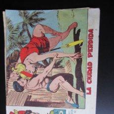 Tebeos: TONY Y ANITA (1960, MAGA) 19 · 16-XI-1960 · LA CIUDAD PERDIDA. Lote 220259377