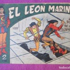 Giornalini: TEBEO EL LEON MARINO Nº2 EL POZO DE LOS SUSPIROS SERIE GAVILAN ORIGINAL. Lote 220259523