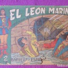 Giornalini: TEBEO EL LEON MARINO Nº3 BARRERA DE ESPADAS SERIE GAVILAN ORIGINAL. Lote 220259826