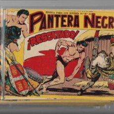 Tebeos: PANTERA NEGRA COLECCIÓN COMPLETA SON 54 TEBEOS ORIGINALES MUY NUEVOS + 4 ALMANAQUES 1957 AL 1960. Lote 220265656