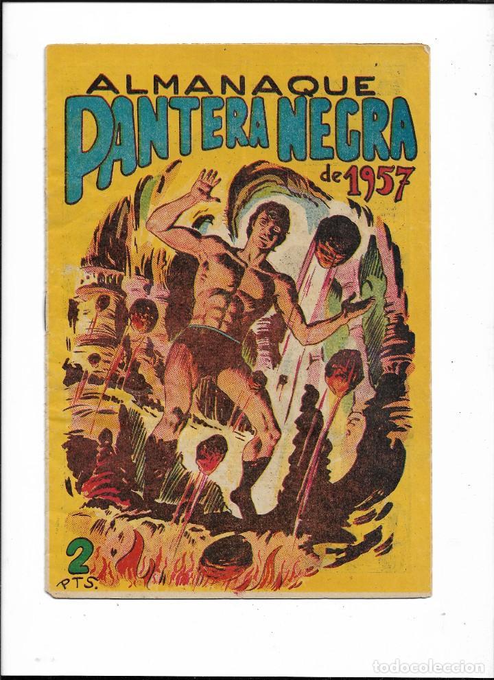 Tebeos: Pantera Negra Colección Completa son 54 Tebeos Originales muy nuevos + 4 Almanaques 1957 al 1960 - Foto 2 - 220265656