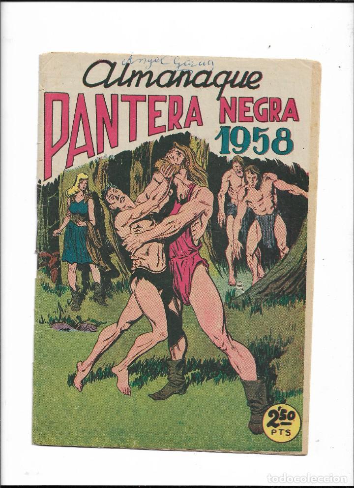 Tebeos: Pantera Negra Colección Completa son 54 Tebeos Originales muy nuevos + 4 Almanaques 1957 al 1960 - Foto 4 - 220265656