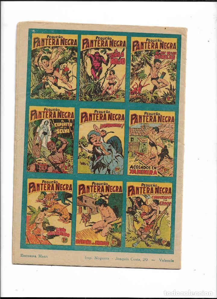 Tebeos: Pantera Negra Colección Completa son 54 Tebeos Originales muy nuevos + 4 Almanaques 1957 al 1960 - Foto 7 - 220265656