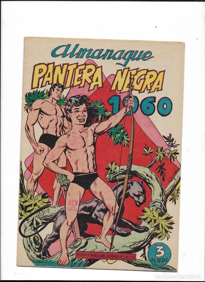 Tebeos: Pantera Negra Colección Completa son 54 Tebeos Originales muy nuevos + 4 Almanaques 1957 al 1960 - Foto 8 - 220265656