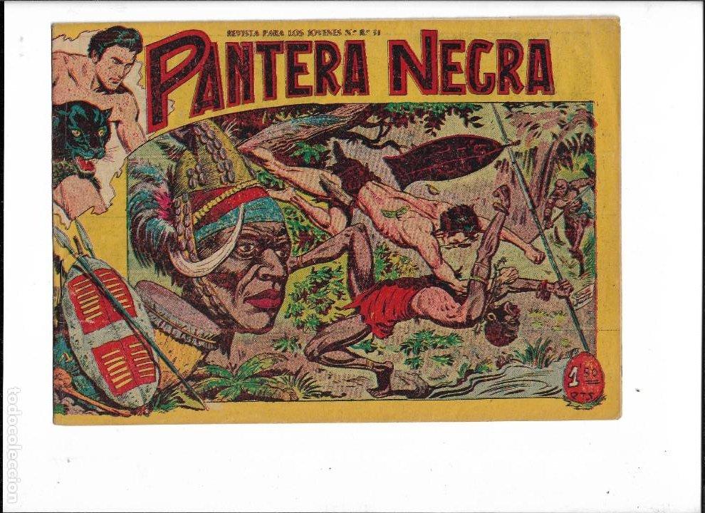 Tebeos: Pantera Negra Colección Completa son 54 Tebeos Originales muy nuevos + 4 Almanaques 1957 al 1960 - Foto 10 - 220265656