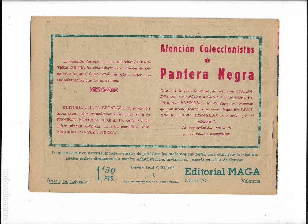 Tebeos: Pantera Negra Colección Completa son 54 Tebeos Originales muy nuevos + 4 Almanaques 1957 al 1960 - Foto 11 - 220265656