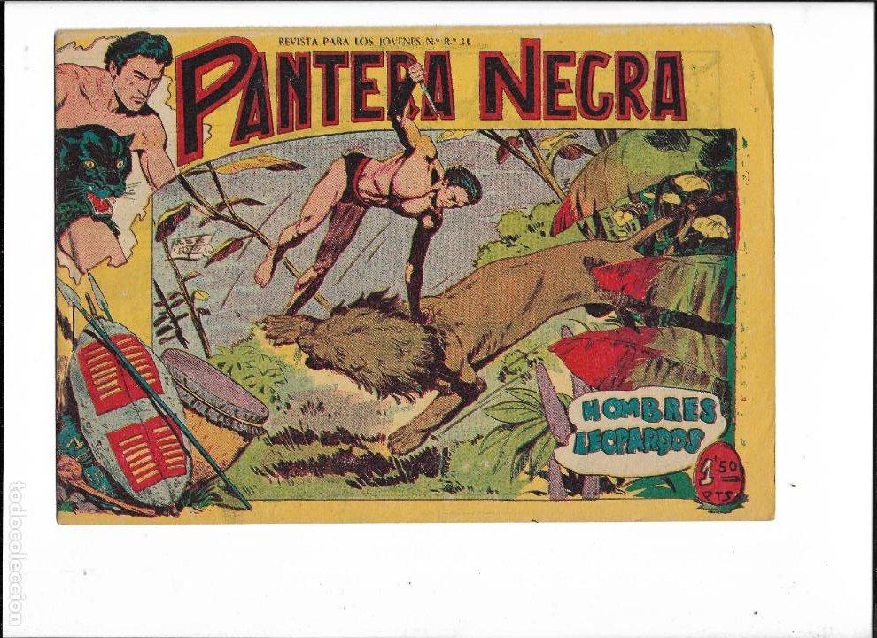 Tebeos: Pantera Negra Colección Completa son 54 Tebeos Originales muy nuevos + 4 Almanaques 1957 al 1960 - Foto 13 - 220265656