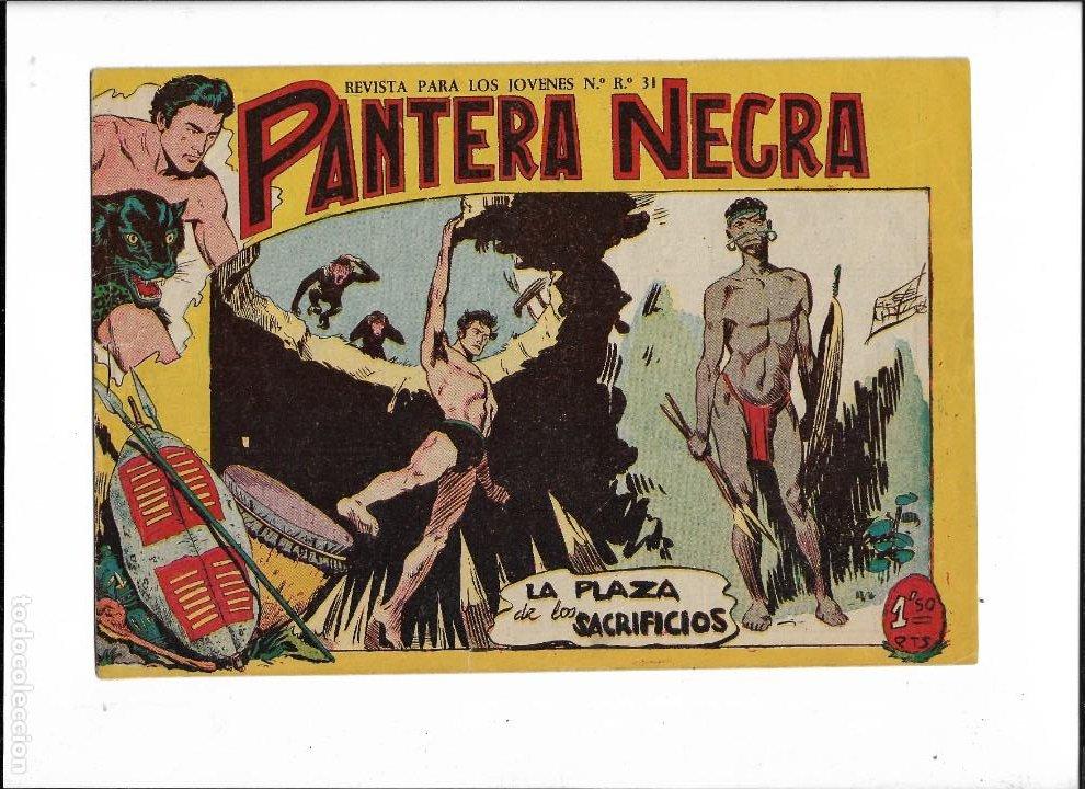 Tebeos: Pantera Negra Colección Completa son 54 Tebeos Originales muy nuevos + 4 Almanaques 1957 al 1960 - Foto 14 - 220265656