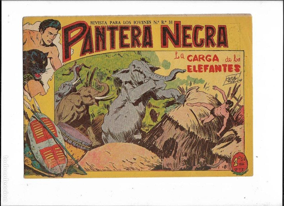 Tebeos: Pantera Negra Colección Completa son 54 Tebeos Originales muy nuevos + 4 Almanaques 1957 al 1960 - Foto 15 - 220265656