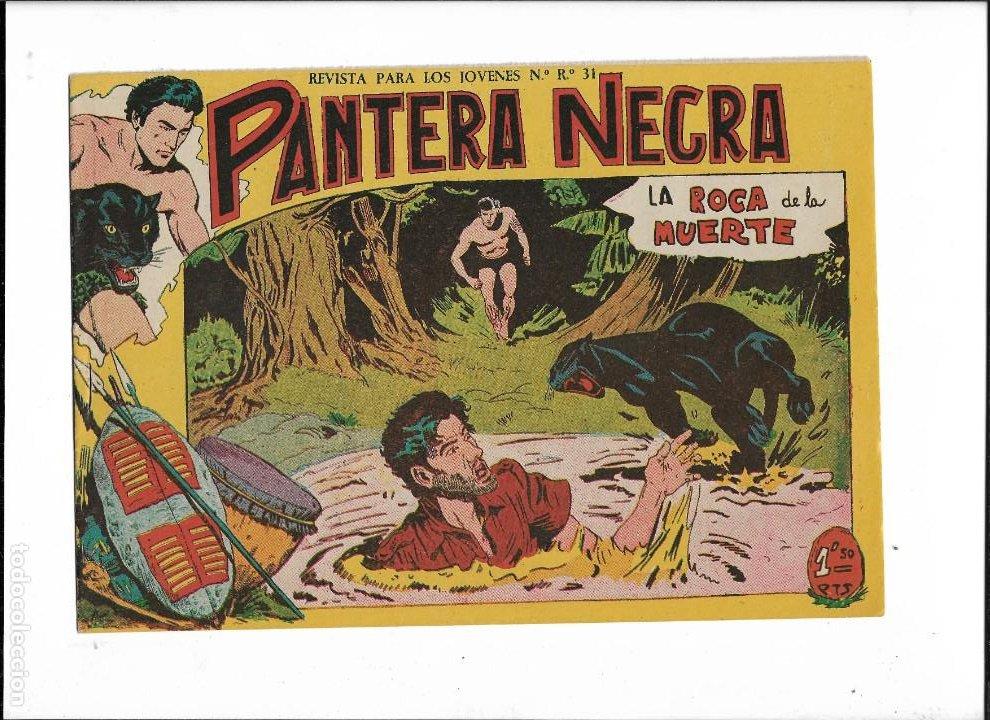 Tebeos: Pantera Negra Colección Completa son 54 Tebeos Originales muy nuevos + 4 Almanaques 1957 al 1960 - Foto 16 - 220265656